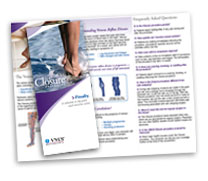 The Closure Procedure Brochure at Chesapeake Vein Center and MedSpa in Virginia
