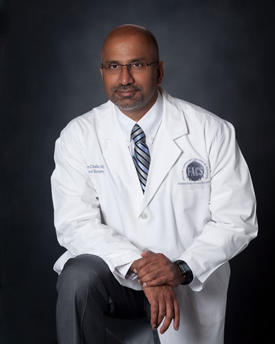 Dr. Surya Challa is ready to help his patients solve all sorts of medical, cosmetic, vein, and surgical needs at Chesapeake Vein Center and MedSpa in Virginia
