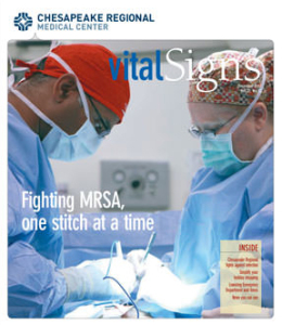 Vital Signs Magazine featuring Dr. Surya Challa at Chesapeake Vein and Medspa