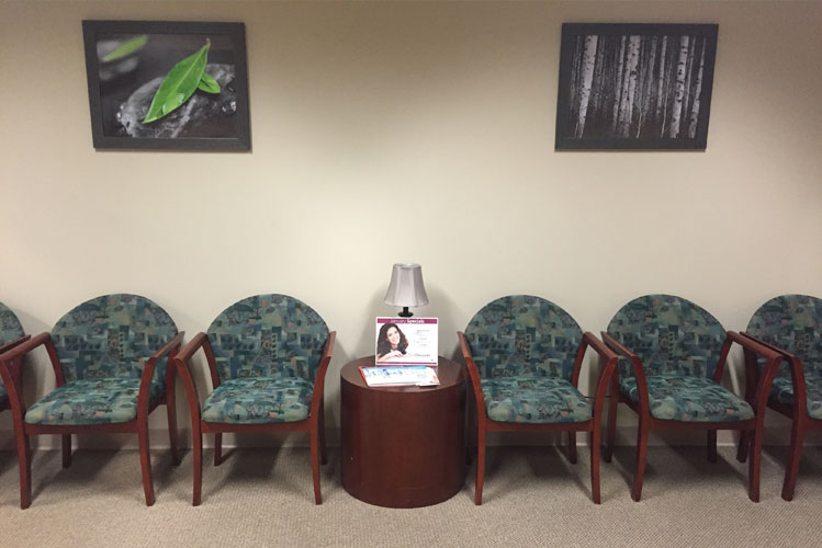 Waiting room at Chesapeake Vein Center and Medspa in Virginia